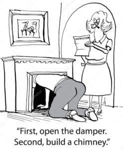 Chimney Dampers - Chicago IL - Jiminy Chimney Masonry & Repair