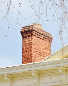 Schedule a chimney cleaning in the new year.