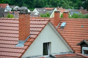 lots of chimneys